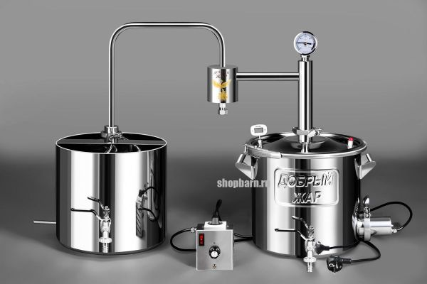 Дачный самогонный аппарат Добрый Жар 12 литров