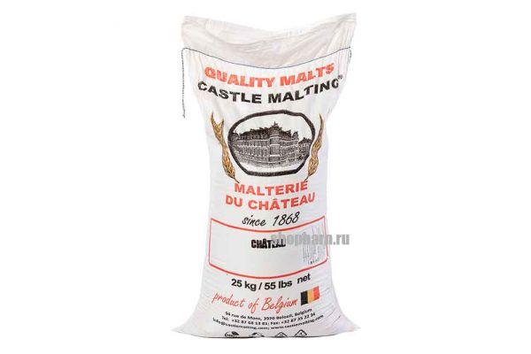 Солод жженый Black malt 1300 (Castle Malting), мешок 25 кг